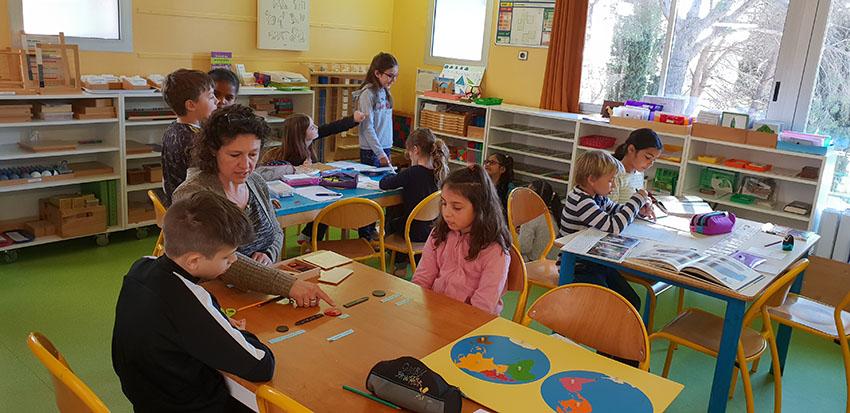 Ecole Montessori d'Antibes